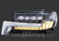Передние фары 4 линзовые LED на Land Cruiser 200 2016-21