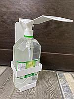 Локтевой дозатор с антисептиком «Desire», 1 л (комплект) (спирт 70 %)