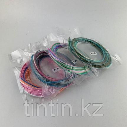 PLA пластик для 3D ручек, 10 метров (в пакетике 3 метра по 3,3 метров), фото 2