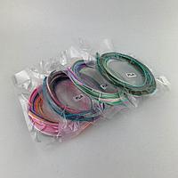 PLA пластик для 3D ручек, 10 метров (в пакетике 3 метра по 3,3 метров)