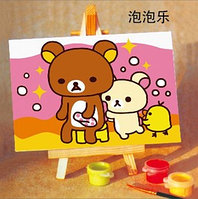 Детская картина стразами на рамке Х-157