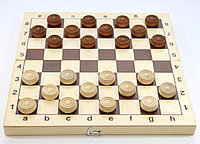 Игра настольная «Шашки» (деревянные), фото 1