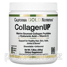 Порошок растворимый Морской коллаген California Gold Nutrition CollagenUP 206гр