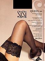 Чулки женские с кружевной резинкой Sisi Queen 20 den