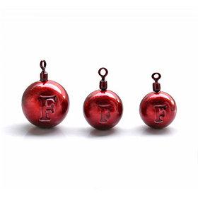 ДЖИГ- РИГ СМОРОДИНА свинец Fanatik цвет RED  1гр (4 шт в упаковке)