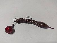 ДЖИГ- РИГ СМОРОДИНА свинец Fanatik цвет RED  1гр (4 шт в упаковке), фото 2