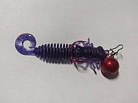 ДЖИГ- РИГ СМОРОДИНА свинец Fanatik цвет RED  1гр (4 шт в упаковке), фото 3