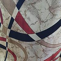 Коврик абстрактный метражом в рулонах бежевый, дорожка, ковер новый в рулон (ширина 100 см)