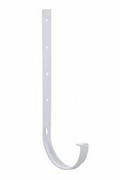 Кронштейн желоба металлический  120x80 мм FINEBER Белый