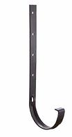 Кронштейн желоба металлический  120x80 мм FINEBER Коричневый
