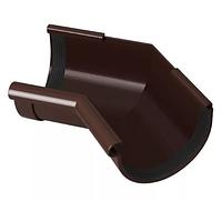 Угол желоба 135° 120x80 мм FINEBER Коричневый