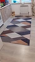 Коврик геометрический метражом, дорожка, ковер Ширина 60 см ковер