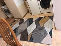 Ковер геометрический метражом, дорожка, ковер Ширина 120 см коврик
