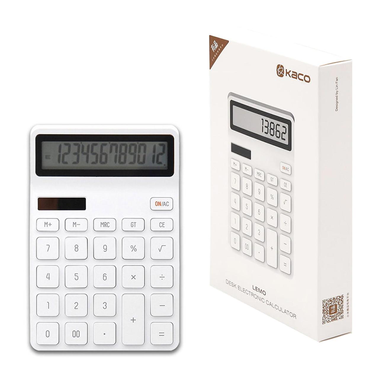 Калькулятор Xiaomi Lemo Desktop Calculator, White