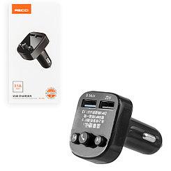 FM-Модулятор Bluetooth + Car Charger Recci RCC-N02, Black