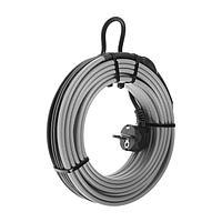 Саморегулирующийся греющий кабель SRL 16-2CR, 16 Вт/м, комплект, на трубу 10 м