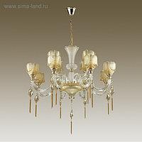 Люстра CORSA 12x40Вт E14 золото, шампань 93,5x93,5x192,1см