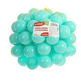 Шарики для сухого бассейна с рисунком, диаметр шара 7,5 см, набор 90 штук, цвет бирюзовый, фото 2