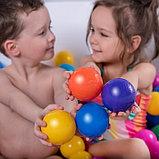Шарики для сухого бассейна с рисунком, диаметр шара 7,5 см, набор 500 штук, цвет разноцветный, фото 6