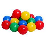 Шарики для сухого бассейна с рисунком, диаметр шара 7,5 см, набор 500 штук, цвет разноцветный, фото 8