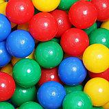 Шарики для сухого бассейна с рисунком, диаметр шара 7,5 см, набор 500 штук, цвет разноцветный, фото 9