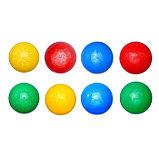 Шарики для сухого бассейна с рисунком, диаметр шара 7,5 см, набор 500 штук, цвет разноцветный, фото 10