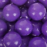 Набор шаров для сухого бассейна 500 шт, цвет: фиолетовый, фото 2