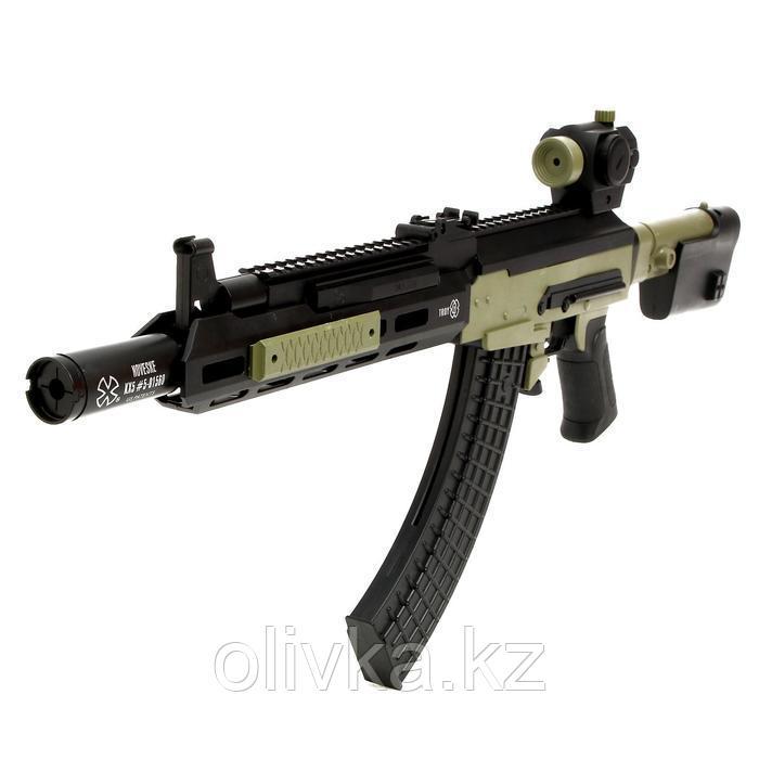 Автомат SWAT, стреляет пульками 6 мм