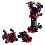 Робот «Воин», трансформируется при столкновении 2 штуки, в комплекте, МИКС, фото 2