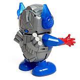 Робот «Танцующий автобот», световые и звуковые эффекты, работает от батареек, фото 3
