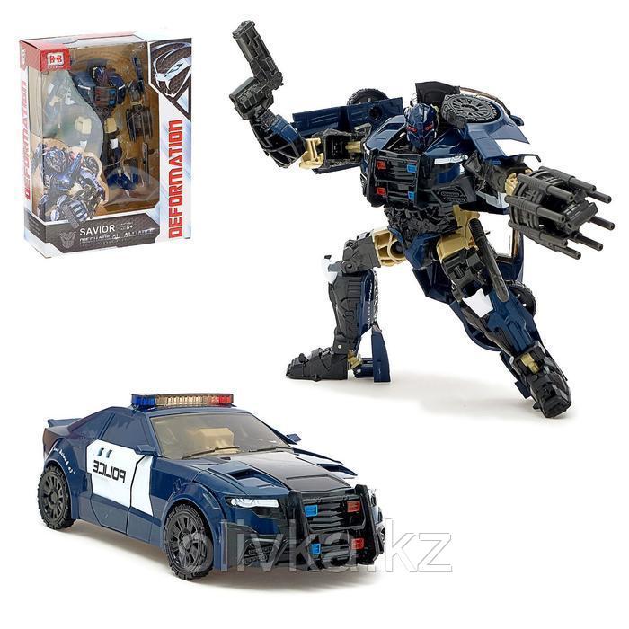 Робот «Полицейский», трансформируется