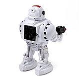Робот радиоуправляемый «Защитник планеты», световые и звуковые эффекты, стреляет, русская озвучка, фото 2
