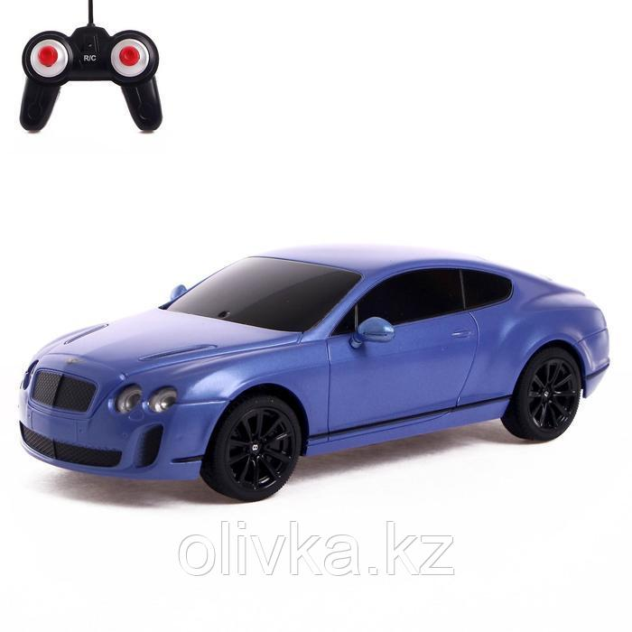 """Машина на радиоуправлении """"Bentley Continental"""", масштаб 1:24, МИКС"""