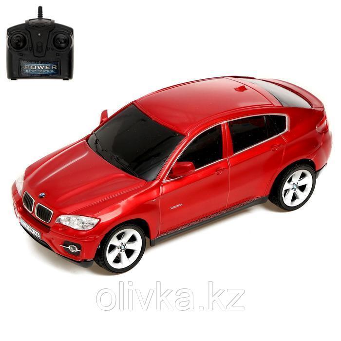 Машина радиоуправляемая BMW X6, 1:24, работает от батареек, МИКС