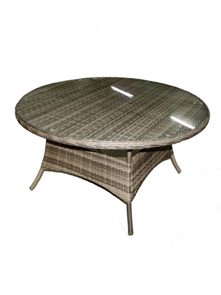 "Комлект мебели ""Yolandi"", 6-Кресол, 1-стол круглый 140см - фото 3"