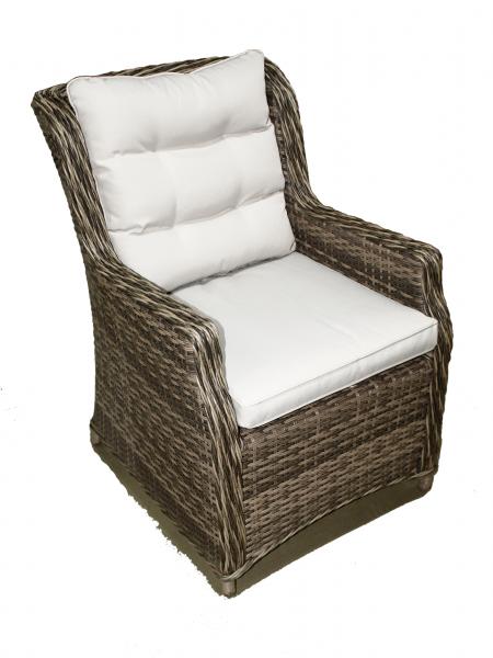 "Комлект мебели ""Yolandi"", 6-Кресол, 1-стол круглый 140см - фото 4"