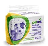 PETMIL 30шт. размер 60 * 40см одноразовые пелёнки для собак