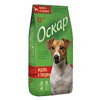 """Сбалансированный Сухой корм """"Оскар"""" индейка и говядина для взрослых собак всех пород 12 кг"""
