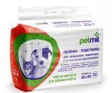 PETMIL 30шт. размер 60 * 90см одноразовые пелёнки для собак