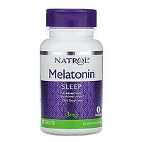 Natrol, Melatonin (Мелатонин), 3 мг, 60 таблеток