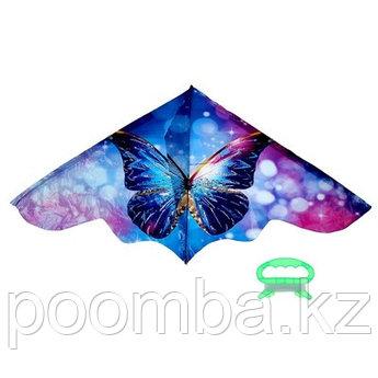 Воздушный змей «Бабочка», с леской