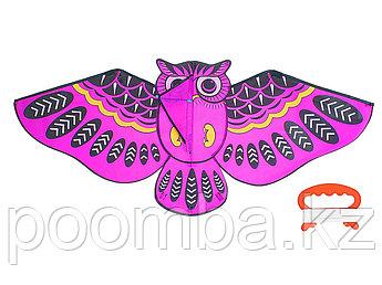 Воздушный змей «Сова», с леской средняя
