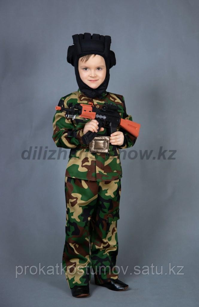 Аренда камуфляжной формы для детей - фото 3