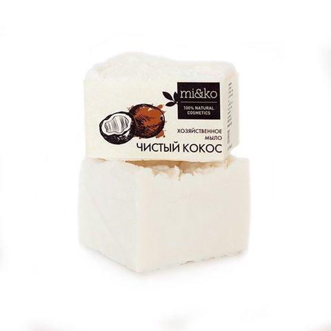 "Хоз.мыло для стирки Чистый кокос 175 гр ""MIKO"""