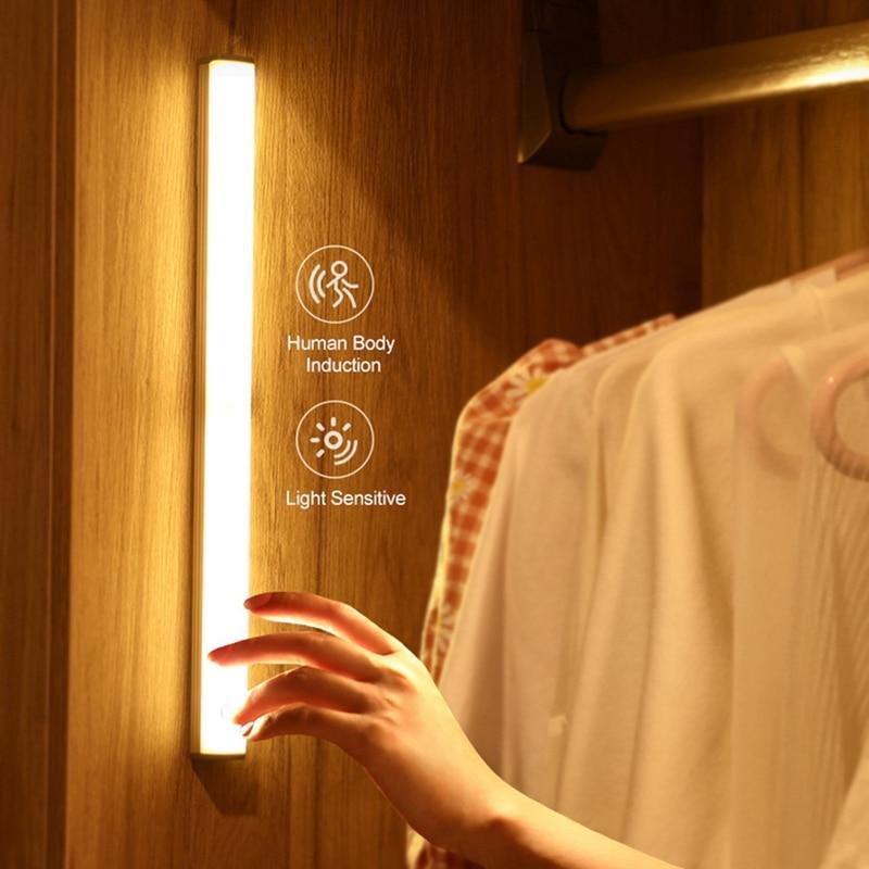 Умный ночник-светильник с датчиком движения