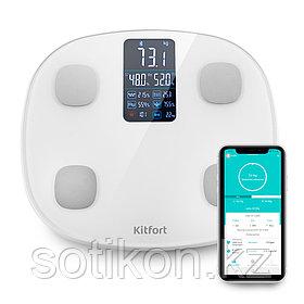 Весы напольные Kitfort KT-808 белый