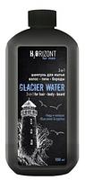 """Шампунь для волос, тела и бороды 3 в 1 GLACIAR WATЕR серии """"H2ORIZONT"""" 500мл"""