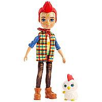 Mattel Enchantimals Кукла со зверюшкой Редворд Рустер с Петушком
