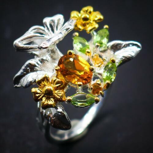 Кольцо с Цитринами