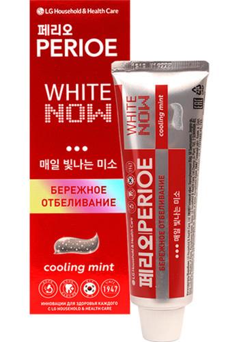 PERIOE Отбеливающая Зубная паста с Охлаждающим Эффектом White Now Cooling Mint 100гр.